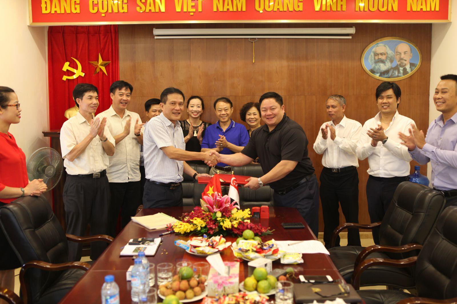 Lễ ký hợp đồng hợp tác đầu tư dự án Phú Hữu - Nhơn Trạch